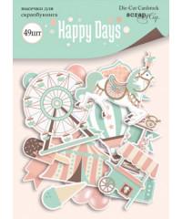 """Набор высечек """"Happy Days"""""""