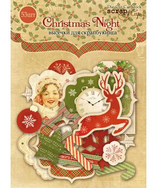 Набор высечек Christmas Night