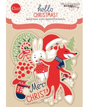 Набор высечек Hello Christmas