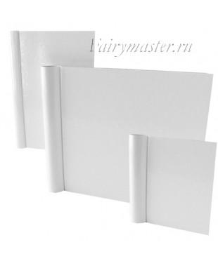 Обложка из картона белая